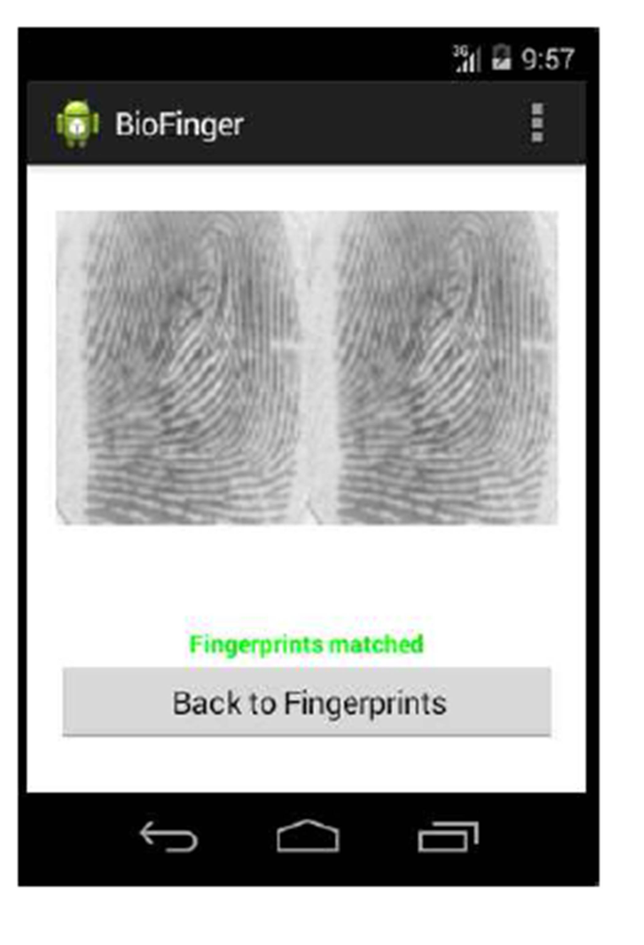 IBIMA Publishing The Recognition of Fingerprints on Mobile