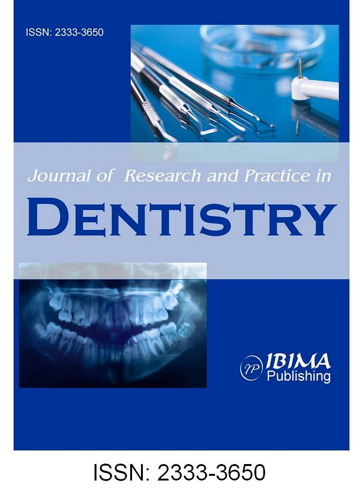 IBIMA Publishing Journal of Research and Practice in Dentistry
