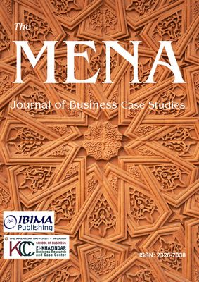 The mena journal of business case studies