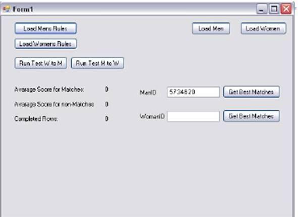 Create your own match algorithm
